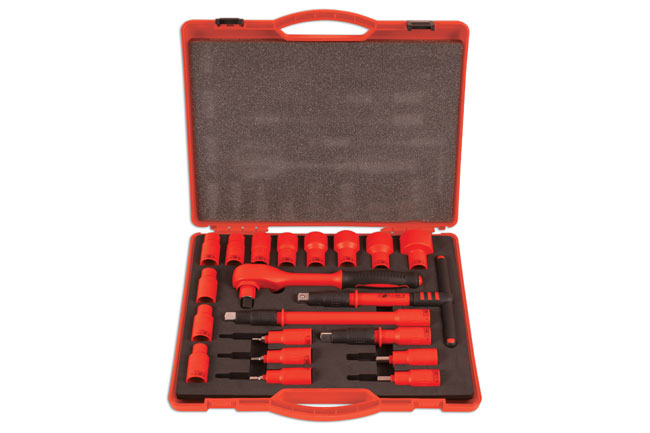 "Insulated Socket Set 1/2""D 20pc"