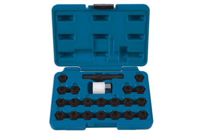 Locking Wheel Nut Key Set VAG - 22pc