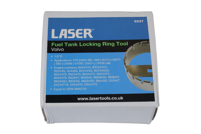 Fuel Tank Locking Ring Tool - Volvo | Part No  6237 | Part of the