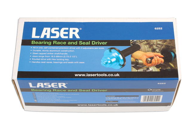 Packaging image of Laser Tools | 6252 | Bearing Race and Seal Driver