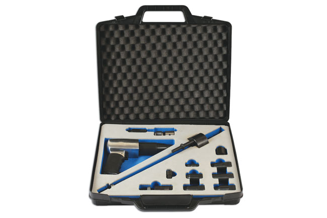 image of Laser Tools | 6263 | Diesel Injector Extractor with Air Hammer & Adaptors