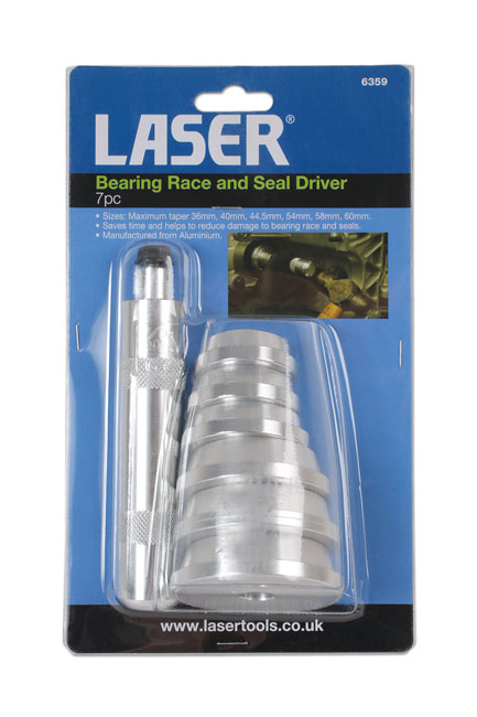 ~/items/xlarge/Packaging image of Laser Tools | 6359 | Bearing Race and Seal  Driver 7pc