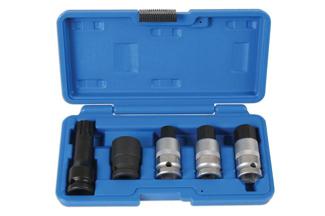 "Hub Nut Tool Kit 1/2""D 5pc"