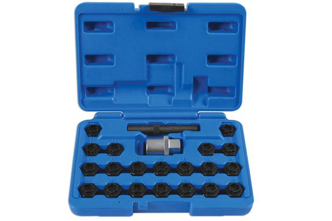 Locking Wheel Nut Key Set 22pc - for BMW