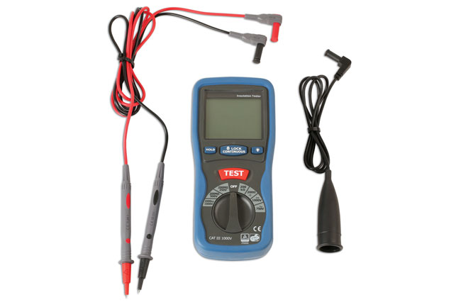 High Voltage Insulation Tester CAT III