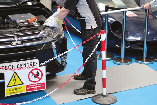 Laser Tools 6623 High Voltage Floor Matting - 10 Metre