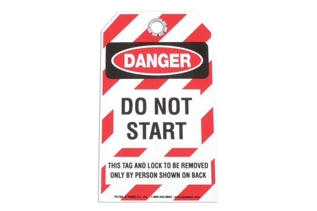 Safety Tag - DO NOT START
