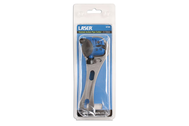 ~/items/xlarge/Packaging image of Laser Tools | 6736 | Ratchet Action Pipe Cutter 3-13mm