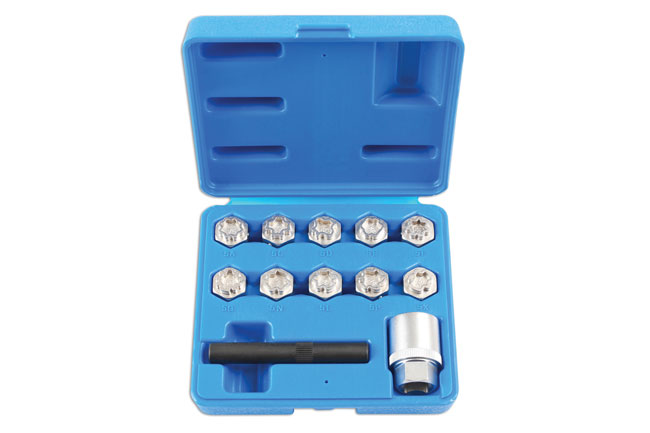 Locking Wheel Nut Key Set 12pc - for Mercedes-Benz