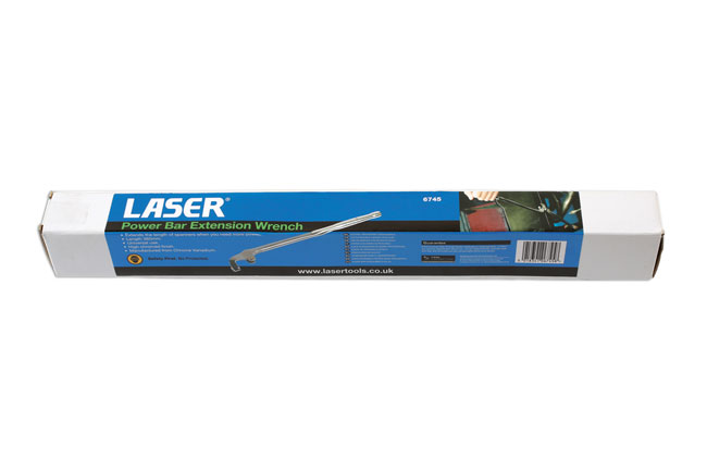 ~/items/xlarge/Packaging image of Laser Tools | 6745 | Spanner Extension Wrench
