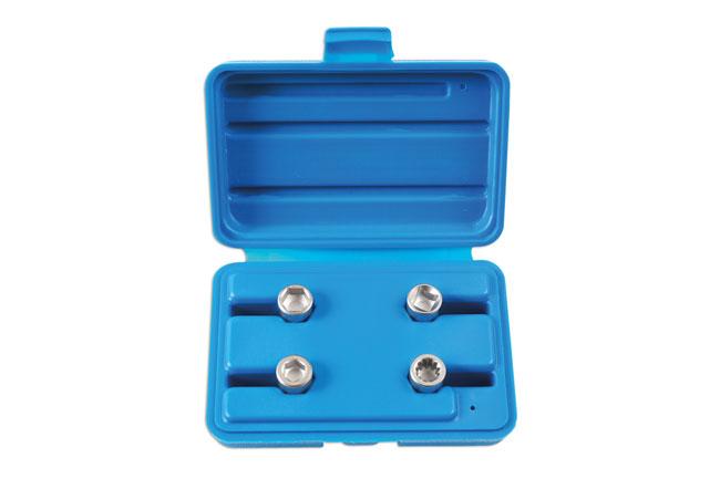 Brake Caliper Socket Set 4pc