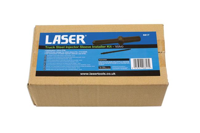 Laser Tools 6817 Truck Steel Injector Sleeve Installer Kit - for Volvo