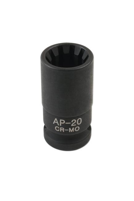 Caliper Brake Socket 20mm x 10pt