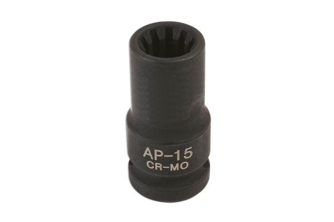 Caliper Brake Socket 15mm x 10pt