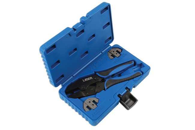 Laser Tools 7002 Ratchet Crimping Tool - for Supaseal Connectors