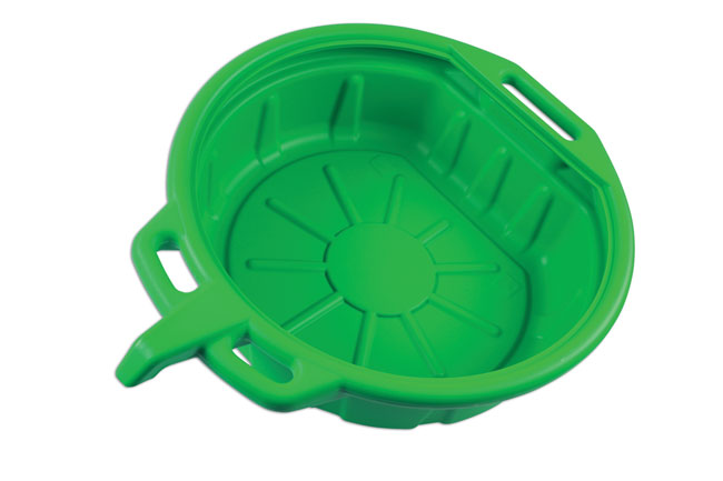~/items/xlarge/Angled image of Laser Tools | 7023 | Fluid Drain Pan - Green