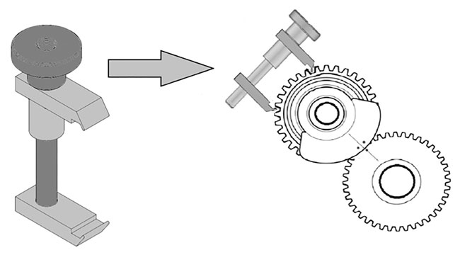 ~/items/xlarge/Diagram image of Laser Tools | 7067 | Split Gear Alignment Tool -Vauxhall/BMW