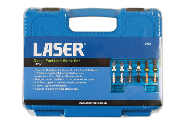 ~/items/xlarge/Packaging image of Laser Tools | 7098 | Diesel Fuel Line Blank Set 12pc