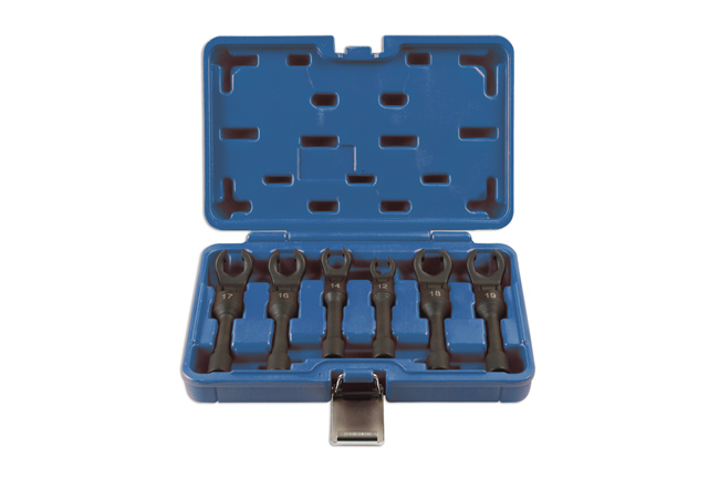 "Diesel Injection Wrench Set 3/8""D 6pc"