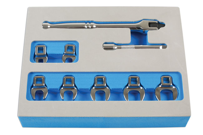"~/items/xlarge/Front image of Laser Tools | 7294 | Flare Nut Wrench Set  1/4""D"