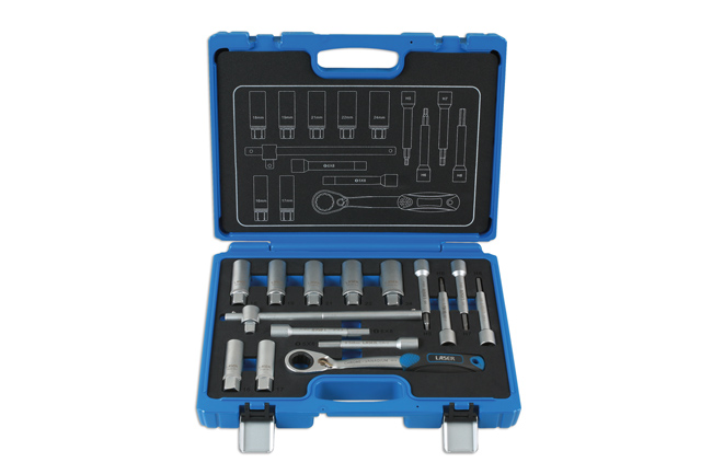 ~/items/xlarge/ image of Laser Tools | 7360 | Shock Absorber & MacPherson Strut Tool Kit 15pc