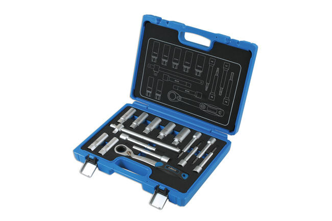 ~/items/xlarge/Left image of Laser Tools | 7360 | Shock Absorber & MacPherson Strut Tool Kit 15pc