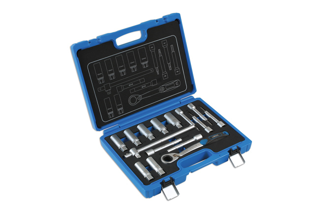 ~/items/xlarge/Right image of Laser Tools | 7360 | Shock Absorber & MacPherson Strut Tool Kit 15pc
