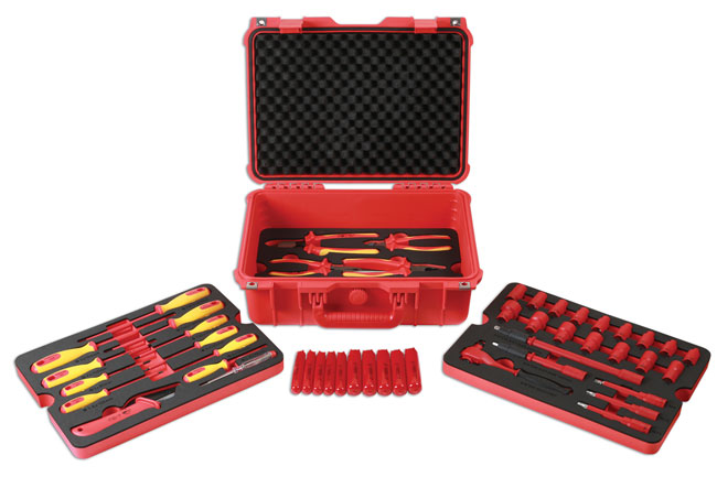 """Insulated Tool Kit 3/8""""D 50pc"""