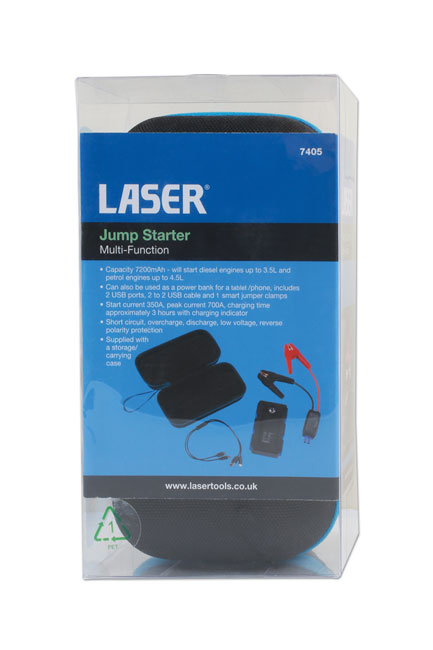 ~/items/xlarge/Packaging image of Laser Tools | 7405 | Jump Starter - Multi-Function