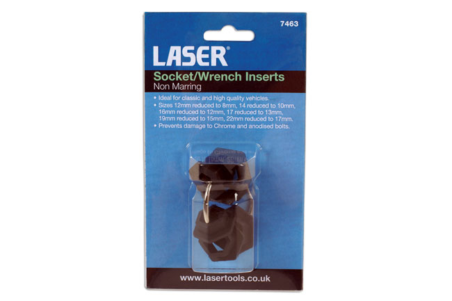 ~/items/xlarge/Packaging image of Laser Tools | 7463 | Socket/Wrench Inserts - Non Marring