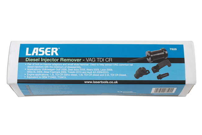 ~/items/xlarge/Packaging image of Laser Tools | 7525 | Diesel Injector Remover - VAG TDI