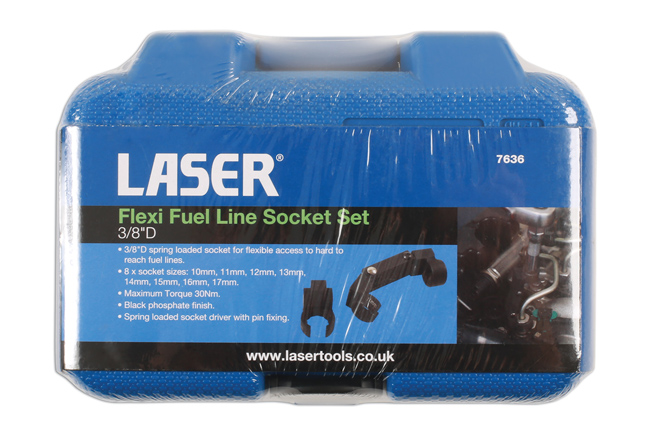 "~/items/xlarge/Packaging image of Laser Tools | 7636 | Flexi Fuel Line Socket Set 3/8""D"