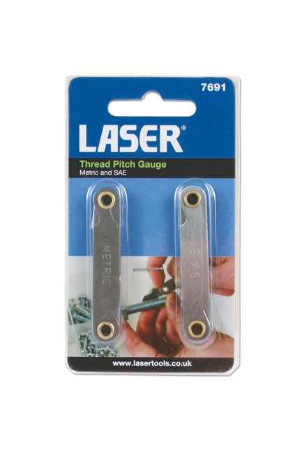 ~/items/xlarge/Packaging image of Laser Tools | 7691 | Thread Pitch Gauge 2pc
