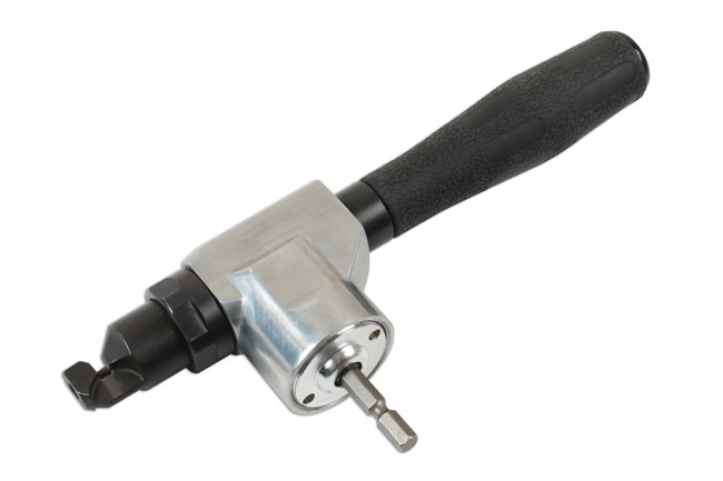~/items/xlarge/Right image of Laser Tools | 7693 | Sheet Metal Nibbler - Cordless Drill Attachment