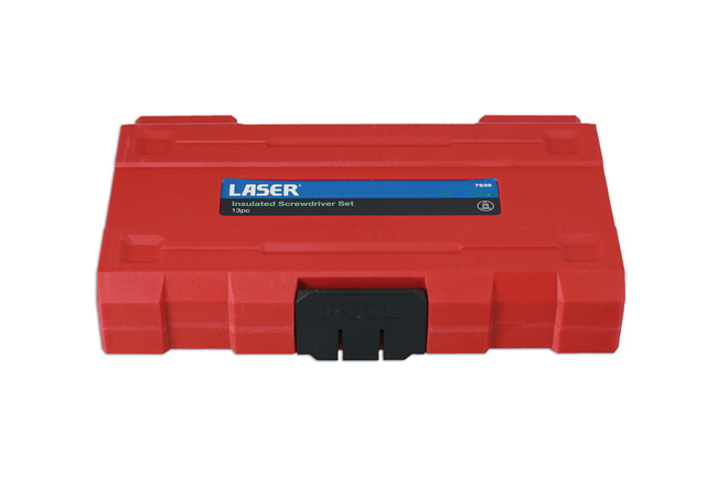 Laser Tools 7939 Insulated Screwdriver Set 13pc