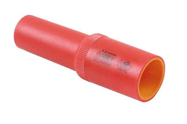"Laser Tools 7951 Deep Insulated Socket 1/2""D 12mm"