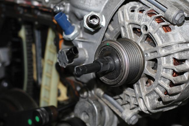 Laser Tools 8001 Alternator Pulley Tool Set - for Honda CDTI