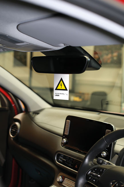 8049 Hybrid/EV Warning Sign 10pc