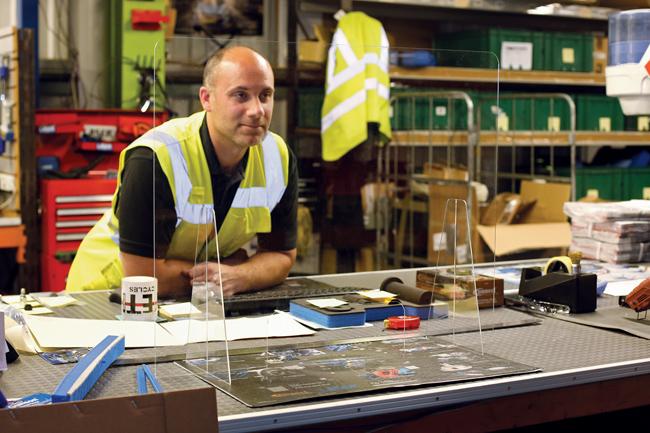 Laser Tools 8059 Laser Tools Acrylic Sneeze Screen