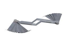 Laser 2482 Feeler Gauge Imperial//Metric 26 Blades Offset