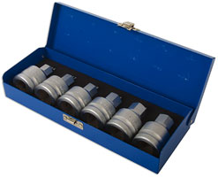 Laser Tools | 3814 | Hex Bit Set 6pc