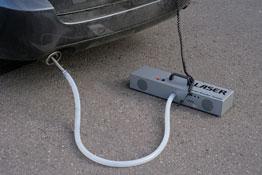 Diesel Smoke Analyser in use