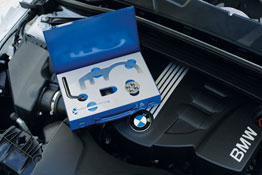 Engine Timing Tool Kit - BMW in use