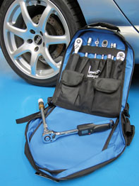 Tool Back Pack in use