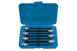"Product Image of Laser Tools Hex Bit Set Metric  3/8""D 7pc Part No. 6995"