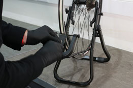 8190 LTR Wheel Truing Stand