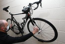 8191 LTR Wall Mounted Bike Holder