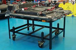 8339 EV Battery Adjustable Mobile Bench SWL 800kg