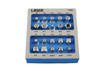 "Product Image of Laser Tools Sump Plug Key Set 3/8""D 20pc Part No. 7365"