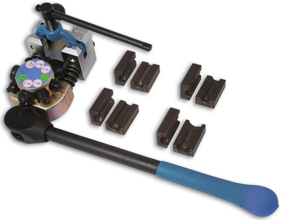 Laser brake pipe flaring tool